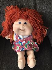 CABBAGE PATCH KIDS Snacktime Kid doll 1995  Mattel Red Hair Works