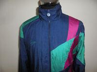 vintage Killtec 80s Nylon Jacke oldschool sportjacke Trainingsjacke glanz L