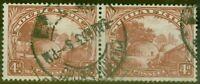 South Africa 1932 4d Brown SG46aw Wmk Inverted Fine Used
