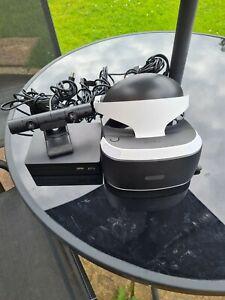 PlayStation VR PSVR PS4 VR Bundle v2. Headset, Camera, stand. Complete.UPS POST