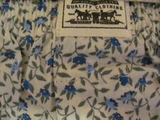 Vtg Levi's Woven Boxer Shorts Briefs Rare Off White w/ Blue Floral Mens Xl 40-42
