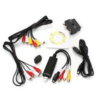 CD TV DVD Audio Video Grabber USB Stick Digitization Plug Cable Scart