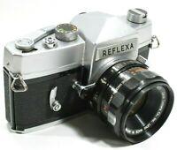 Mamiya Reflexa 35mm Film Camera with Canon OM F1.9 50mm Lens Rare UK Fast Post