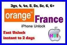 Factory Unlock iPhone for 3g/3gs/4/4s/5/5s/5c/6/6+ Samsung Lumia France Orange