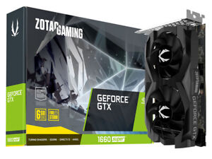 ZOTAC GeForce GTX 1660 Super 6GB GDDR6 (ZT-T16620F-10L)