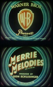 """16MM SOUND-""""CRAZY CRUISE""""-1942 MERRIE MELODIES CARTOON-UNCENSORED-ANSCO COLOR"""