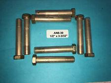 """AN8-30 Bolt 1/2"""" x 3-3/32"""" Long Drilled Shank Aircraft Aviation Hardware (8)"""