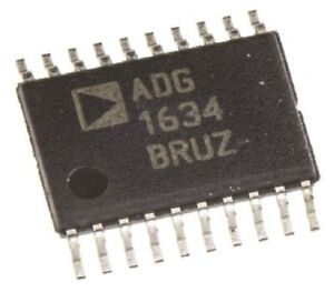 Analog Devices MULTIPLEXER SWITCH IC 12V 16-Pins Quad SPDT Differential TSSOP
