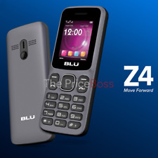 Blu Z4 Music Z190 2G Dual SIM Quadband Unlocked GSM Phone Gray Brand New