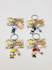 Naruto Double Keychain Figure Lot Of 4 Characters , Banpresto