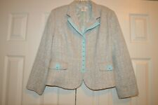 Vintage Vertigo Paris Women's blazer Jacket size Large
