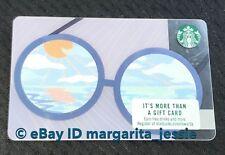 "STARBUCKS GIFT CARD 2018 ""SUMMER GLASSES"" SUNGLASSES NEW NO VALUE #6153. US"