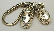 Silver Shoes Key Chain for Grandmother
