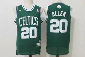 Boston Celtics #20 Ray Allen Green Retro Jersey  Size: S-XXL