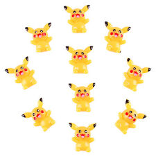 10 pcs Pokemon Pikachu Resin Cabochon Flatbacks Scrapbooking Hair Bow Crafts