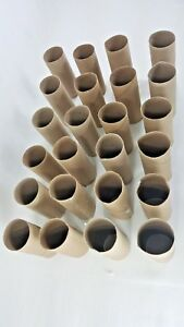 Lot of 40 clean toilet paper cardboard tubes for school or home crafts FREE SHIP