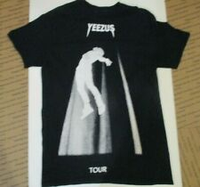 Men's Yeezus Tour Kanye West Black & White Tee Shirt size Small