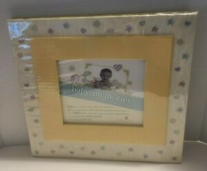 NEW SEASONS Baby Memories Scrapbook, w/ sleeve protectors, patterns stickers NEW