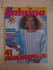 Handarbeitsheft, Strickheft Sabrina  Nr 3 1988