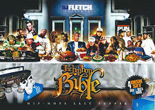 THE HIP HOP BIBLE MUSIC VIDEO DVD + 3CDS OLD SCHOOL HIP HOP THROWBACKS 80'S 90'S