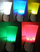 2 Stück LED Nachtlicht mit Schalter für Steckdose Orientierungslicht NEUWARE