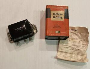 NOS Delco Remy Voltage 12V Regulator D621 Gen 1119168 1956 - 62 All GM Chevy