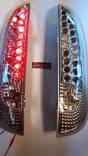 Opel Corsa C F08+ F68 LED Rückleuchten Klar Glas Chrom Bj.00-09 E.Nummer RO06LLC
