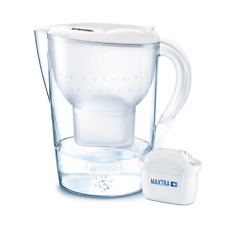 Brita Marella Carafe d'eau filtrante, Maxtra +, blanc-Taille XL