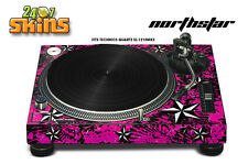 Skin Decal Sticker Wrap for Technics Quartz SL Turntable Pro Audio Mixer NS