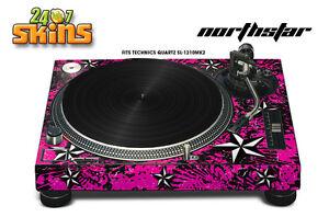 Skin Decal Sticker Wrap for Technics Quartz SL Turntable Pro Audio Mixer NSTAR P