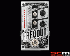 Digitech FREQOUT Natural Feedback Creator Guitar FX Pedal  Stomp Box