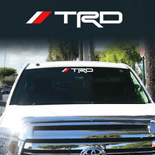 TRD Windshield front Tacoma Tundra off road Racing Toyota Decal Sticker Vinyl