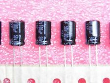 Lot x10: condensateur chimique 100µF 100MF 50v radial rubycon 105°C h:13mm Ø:8mm