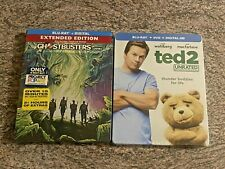 2 Steelbook Blu-ray Comedy Lot: Ghostbusters (2016), Ted 2 (2015) NEW / SEALED