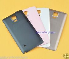 OEM Battery Back Door Cover Case Hard Thin For Samsung Galaxy Note 4 Replacement