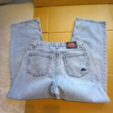 """JNCO Mens 33x30 (Actual 32x30) """"Funky 20"""" Light Wash Baggy Jeans 100% Cotton"""