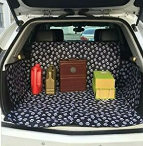 Pet Dog Waterproof Cargo Liner Non Slip Backing Trunk ,Oxford Car SUV Seat Cover