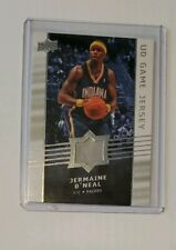 2008-09 Upper Deck UD Game Jersey #GA-JO Jermaine O'Neal Indiana Pacers Card MT