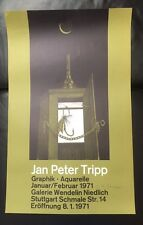 Handsigniertes affiche de Jan peter tripp