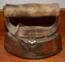 Vintage Asbestos Sad Iron Iron Flat Iron With Removable Handle