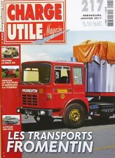 Charge Utile magazine n°217-2011-FROMENTIN-MACK-VAN HOOL-HAULOTTE-BONER-