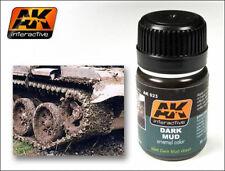 Ak Interactive AKI 023 Wash-Dark Mud Effect 35ml Bottle