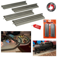 O Gauge Straight Track For Lionel FasTrack Train Hobby Collection 10in Pack Of 4