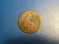 Great Britain Penny KM# 755 1875  A884  I  COMBINE SHIPPING