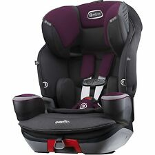 Evenflo SafeMax 3-In-1 Combination Booster Seat Purple Berry