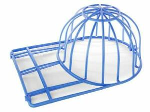 Ballcap Buddy Cap Washer Hat Washer Seen on SHARK TANK Cap Cleaning Cage Blue