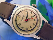ULTRA-RARE 1940s HYDEPARK 60-SEC OUTER DIAL (7010-P MODEL) VINTAGE MENS WATCH
