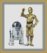 Star Wars R2D2 y C3PO Kit Punto De Cruz