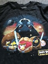 Angry Birds Star Wars T Shirt Size Small Black