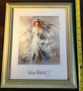 Painting Print Willem Haenraets Woman Wood Frame
